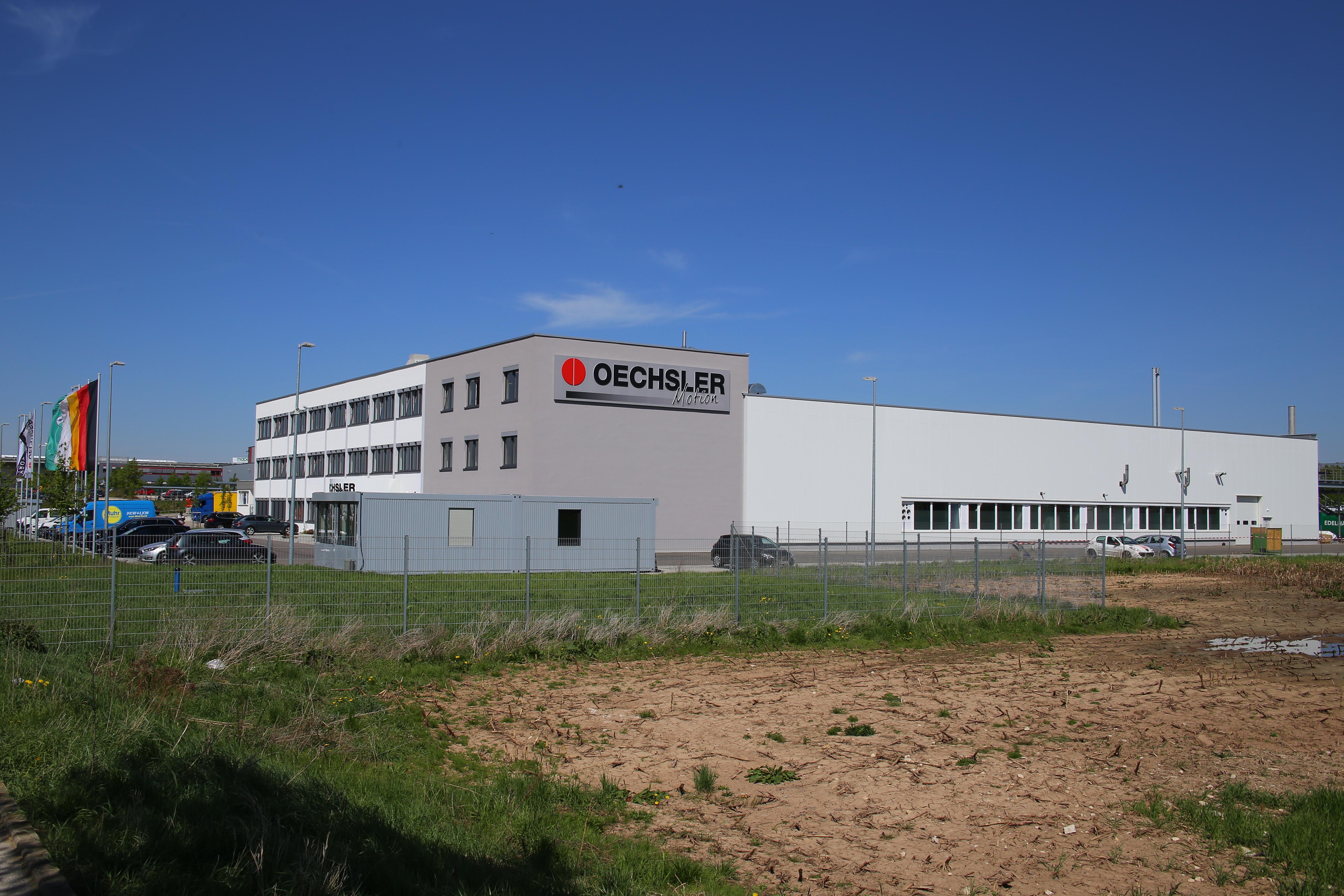 Oechsler Ansbach Speedfactory - MOEZER - Hochbau Tiefbau Stahlbetonbau